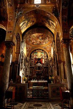 La Martorana, Palermo / Italy, Sicily by flydime, via Flickr