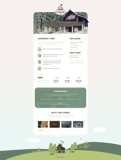 Sort of fun and compelling to see the old 800x600-esque wide/feel website #Vintage #Nostalgic -- Cottage / Cabin For Rent [WIP] by djonas3