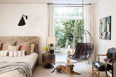 Eclectic Bedroom in Malibu, CA by Hancock Design