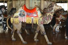 photo credit Patricia Montgomery  This carousel was manufactured in 1905 by the Philadelphia Toboggan Company (PTC). Carousels made by PTC are identified by numbers in the order they were made. Therefore, the one in Burlington is identified as the PTC No. 6 which indicates that it was the sixth (of 74) manufactured.