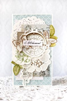 Kaisercraft Provincial card by Julia Akinina