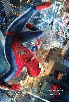 """Novos cartazes do filme """"O Espetacular Homem-Aranha 2: A Ameaça de Electro"""" http://cinemabh.com/imagens/novos-cartazes-do-filme-o-espetacular-homem-aranha-2-a-ameaca-de-electro"""