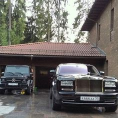 Awesome Rolls-Royce 2017 - Instagram media by rolls_royce_moscow777 - Rolls Royce Phantom and Mercedes-Ben...
