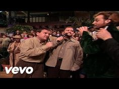 Mark Lowry, Guy Penrod, David Phelps, Michael English - A House of Gold [Live] Gaither Gospel, Gaither Vocal Band, Mark Lowry, Gaither Homecoming, Hank Williams Sr, Good News Today, House Of Gold, Jazz Songs, Gold Live