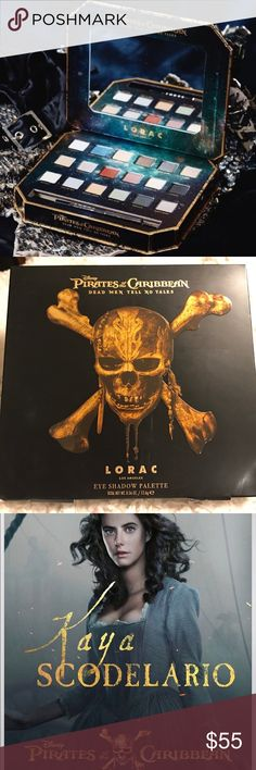 ☠️☠️LORAC- Pirates Of The Caribbean Eye Palette!☠️ Brand New and Authentic! 💯💯 This is a LIMITED EDITION Palette by LORAC! ☠️ Super creamy and Pigmented! A total must have for all makeup or Pirate loves!! 🙌🙌 SOLD OUT in most stores!! Gifts with Purchase! 😘😘 Bundle and SAVE!! LORAC Makeup Eyeshadow