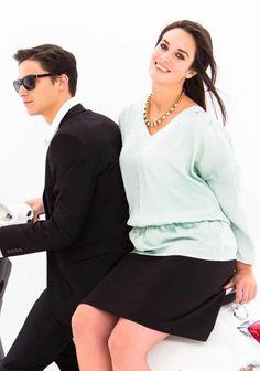 Hame (XL-malli) SK 08/2014. Blazer, Sewing, Blouse, Long Sleeve, Sleeves, Jackets, Tops, Women, Fashion