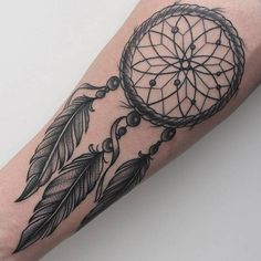 Dreamcatcher Tattoo by Александр