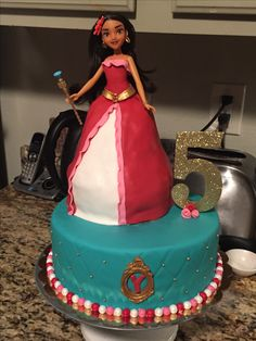 Elena of Avalor birthday cake