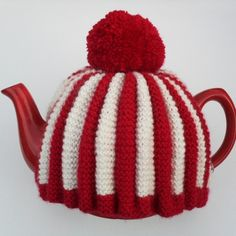 Knit or Crochet Mug Hug Snugs, Tea Cozy/Cosy/Cosies! And other wraps for food items tea cosy!