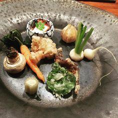 The whole garden is in my plate! #foodporn #foodie #japan #hokaido #travel #homedecor #designetchk #zaborin photo credit @ pheontanalogy