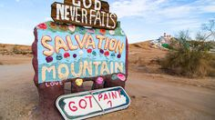 Salton Sea and Slab City - Day Trip, 3 hrs by car