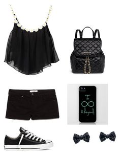 My daisy black outfit by missdiva231 on Polyvore featuring polyvore, interior, interiors, interior design, Casa, home decor, interior decorating, Converse, MICHAEL Michael Kors and MANGO
