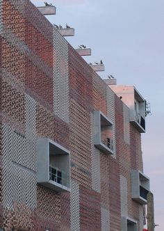 FLEXBRICK. Fachada ventilada/Ventilated facade/Façade ventilée; Celosía…