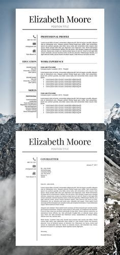 10 Free Resume Templates   SundayChapter com   Pinterest   Template     Resume Template   Modern Resume Template   Professional Resume Template   3  Page Resume   CV Template   Instant Download Resume   MS Word