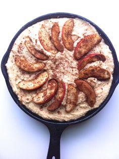 Gluten-Free Apple Skillet Cake is a simple 21 Day Sugar Detox breakfast.