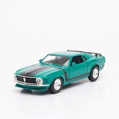 Miniatura 1970 Ford Mustang Boss 302 - Maisto - 1:24 - Machine Cult   A loja das camisetas de carro e moto