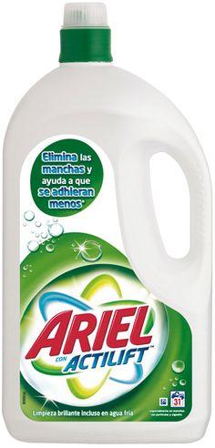 PROMOCIÓN VÁLIDA HASTA EL 27 DE ABRIL 2012:  Ariel actilift 31 dosis: 10,15€ y si compras 2 ¡Segunda unidad a mitad de precio!