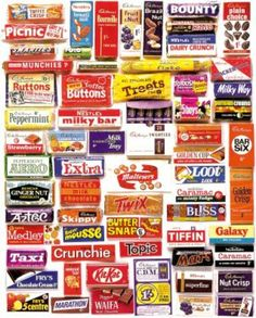 I didn't buy chocolate with my pocket money - it was way too expensive! But are there any names that bring back memories #backinmyday #goodolddays #happymemories