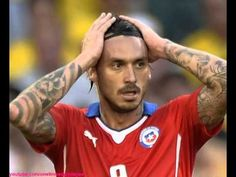 Mauricio Pinilla Gets A Tattoo Of The Goal He Missed At World Cup