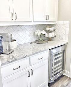 #Coastal #kitchen Outstanding Home Interior Ideas