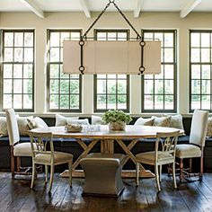 Breakfast Room   A New Look with a Neutral Color Scheme - Southern Living Mobile