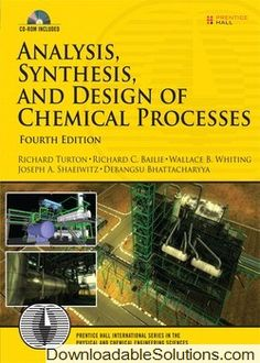 24 best chemical engineering images on pinterest chemical solution manual for analysis synthesis and design of chemical processes 4th edition download answer key fandeluxe Gallery