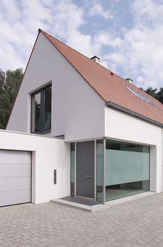 Berschneider + Berschneider, Architekten BDA + Innenarchitekten, Neumarkt: Neubau WH S (2001) Nürnberg - Kraftshof