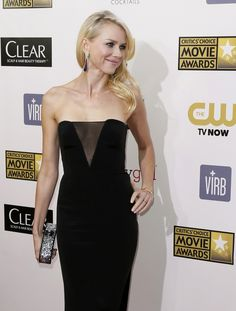 Naomi Watts wearing Pucci, at the 2013 Critics Choice Awards.