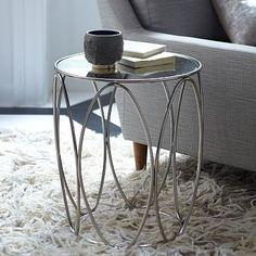 Oval Rings Side Table #westelm $149