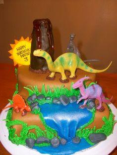 Image detail for -The Cake Girl: Matix Dinosaur Birthday Cake
