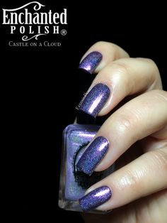 Enchanted Polish - Castle on a Cloud (Special Effects Top Coat Collection)