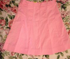 Vintage Lilly Pulitzer Pink Pleated Skirt by palmbeachhostess