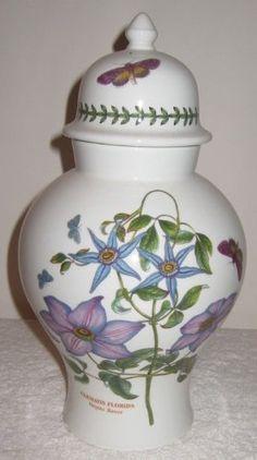 "Portmeirion Botanic Garden Lidded 12"" Ginger Jar - http://cookware.everythingreviews.net/14200/portmeirion-botanic-garden-lidded-12-ginger-jar.html"