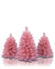 Treetopia - Pretty in Pink Artificial Christmas Tree ...