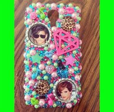 Rhianna bling phone case! Search for Paiges Infinite Bling on facebook, instagram, and etsy!