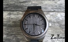 "Perfect gift for best friend. Made of 100% ingredient, the ""BLACK WOODY"" watch is the unique, perfect and one of a kind watch you can ever get. An Absolut eye catching and compliment magnet, the leather is so soft and the watch itself is so lightweight and can suit any style – a unique product by ZeiTime via en.DaWanda.com"