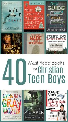 40+ MUST READ Books for Christian Teen Boys #reading #teenlit #christianteen #homeschooling #christianlit Homeschool Books, Homeschool High School, Homeschool Curriculum, Homeschooling, Books To Read, My Books, High School Years, How To Influence People, Books For Boys