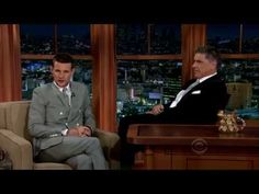 July 24, 2013 -- Matt Smith on Craig  Ferguson's show. 11 minutes of charming and wonderful.