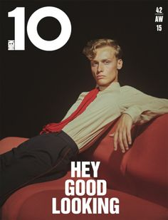Dylan Bell by Charlotte Wales for 10 Men Magazine