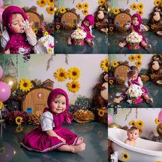 Half Birthday Cakes, 2nd Birthday Party Themes, Girl 2nd Birthday, Birthday Party Outfits, Bear Birthday, Birthday Decorations, Marsha And The Bear, Bear Party, Cake Smash