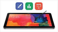 Das Samsung GALAXY NotePRO 12.2 besitzt zahlreiche Produktivitäts-Tools, die Dir neben der privaten vor allem auch die berufliche Nutzung de...