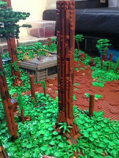 Bäume / Landschaft Bauen - posted in Lego Fragen: Hallo :-) Ich habe heute die neuen Bilder von Fenaor hier im Forum gesehen von seinem Stellwerk , und ich bin begeistert :-) Ich habe ja auch gerade angefangen eine City zu bauen , jetzt habe ich zb seine Bäume und Wiesen gesehen die ja jede menge ausmachen auf so einen Modell Leider habe ich noch nie solche Bäume gebaut und frage mich daher welche Teile man zb brauch , die Blätter habe ich schon gefunden ,und da ist meine erste Frage......