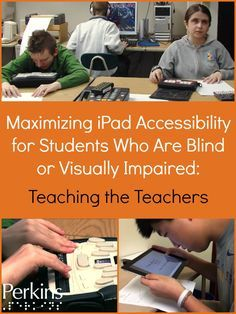 Ed Summers and Diane Brauner discuss the work they have been doing with teachers regarding iPad accessibility in this new webcast from Perkins eLearning