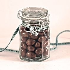 Clip Lid Glass Jar Sweetie Favour