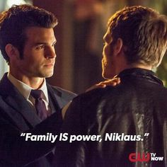 The Originals - Elijah and Klaus