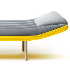 Emanuele Magini's Blow Daybed For Gufram Is Modelled On Inflatable Lilos - http://decor10blog.com/decorating-ideas/emanuele-maginis-blow-daybed-for-gufram-is-modelled-on-inflatable-lilos.html