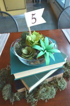 Paper Succulents - Wedding Centerpiece - Party Favor by Paper Acorn