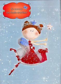 Te encantan las manualidades? Este es el lugar perfecto para ti, hay muchisimas revistas de cualquier tipo gratis Fairy Dolls, Arts And Crafts, Christmas Ornaments, Holiday Decor, Illustration, Anime, Diy, Inspiration, Fairies