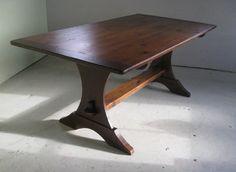 Half Moon Trestle Trestle Farm Tables | Dining | Table | Furniture | Kitchen | Wooden