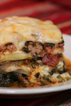 Low Carb/South Beach Eggplant Lasagna | I was looking for a yummy South Beach recipe to curb my Italian Cravings.
